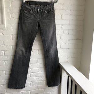 LuckyBrand Dark wash Long denim jeans size 0 / 25